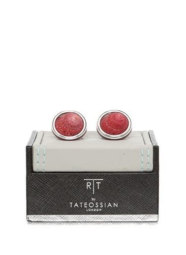 Tateossian Kol Düğmesi Kırmızı